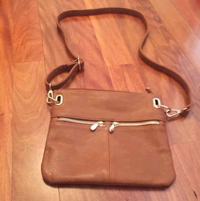 New Colette Brown Shoulder Bag
