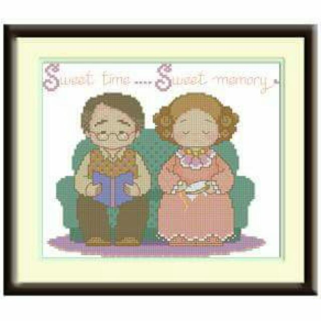 Paket Kristik Kakek Nenek Sweet Memory