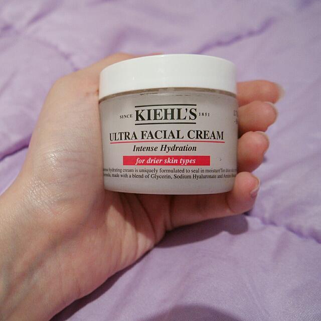Preloved Kiehl's Ultra facial cream