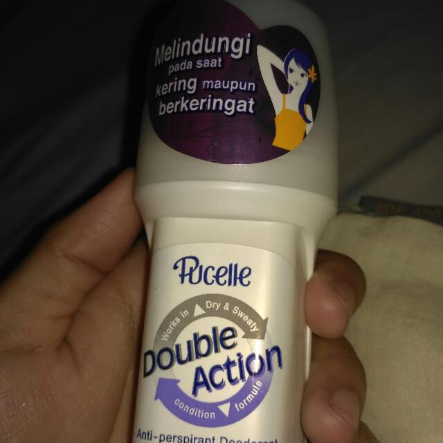 Pucelle Deodorant Roll On Fair White