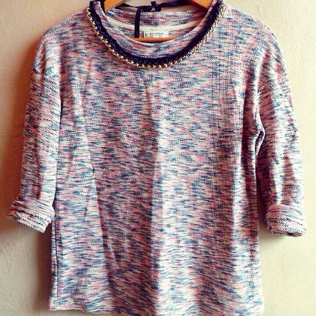 Pull And Bear Knit Top