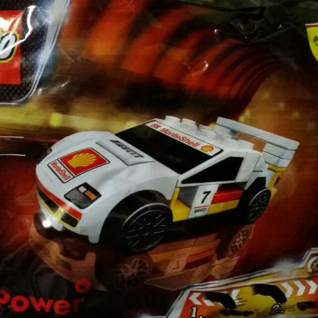Shell Lego Ferrari Toy Cars Set 2