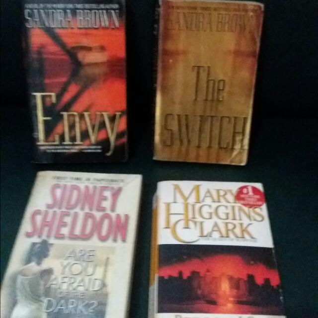 Sidney Sheldon; Mary Higgins Clark; Sandra Brown