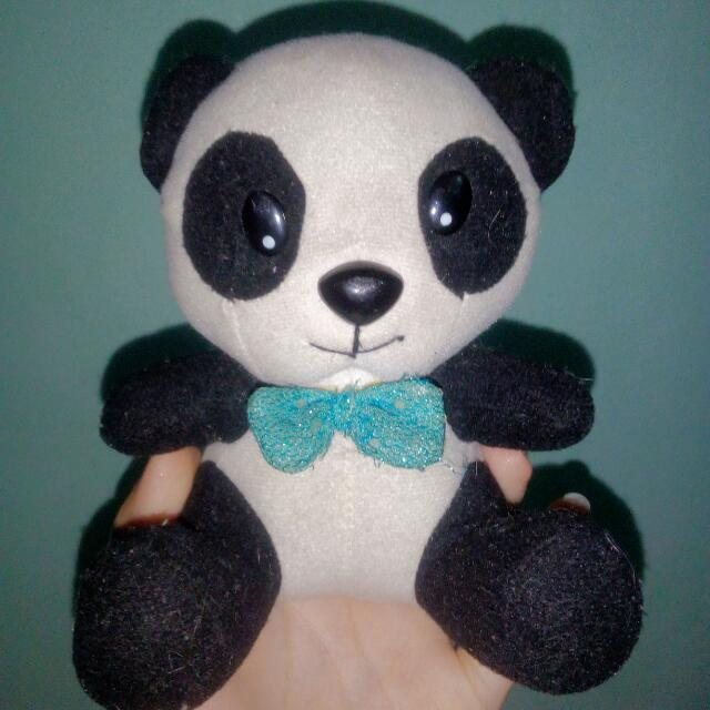 Small Panda Stuffed Toy Toys Games Others On Carousell