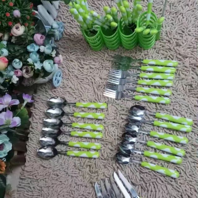 spoons knife and fork 24!pcs