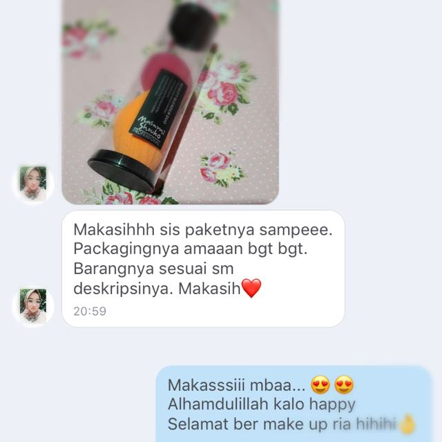 Testimoni Beauty Blender