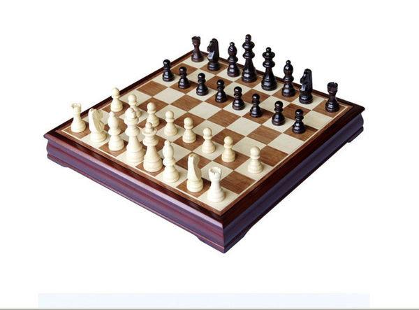 禦聖TG-303桦木國際象棋送朋友生日禮物益智遊戲/玩具  棋類