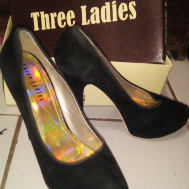 Three Ladies High Heels Size 40