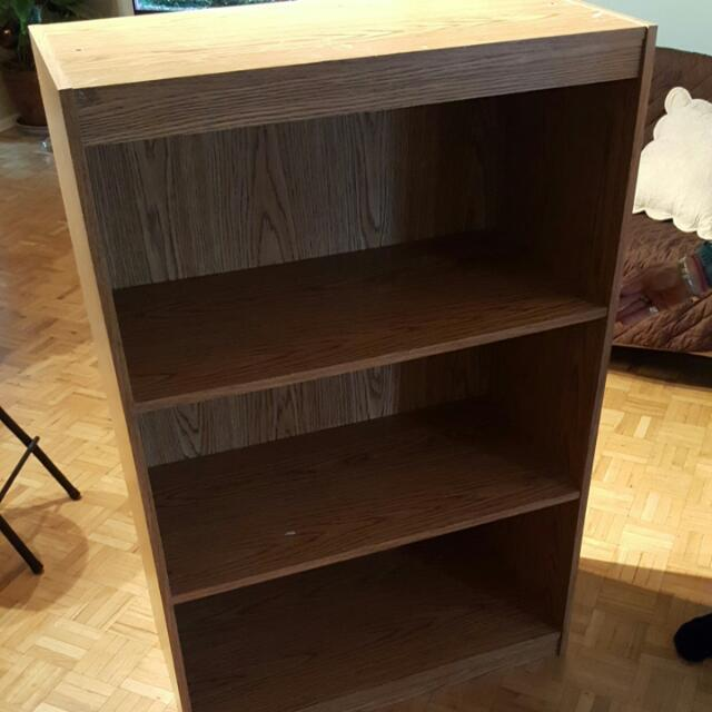 Twin Bed And Matching Shelving For Sale