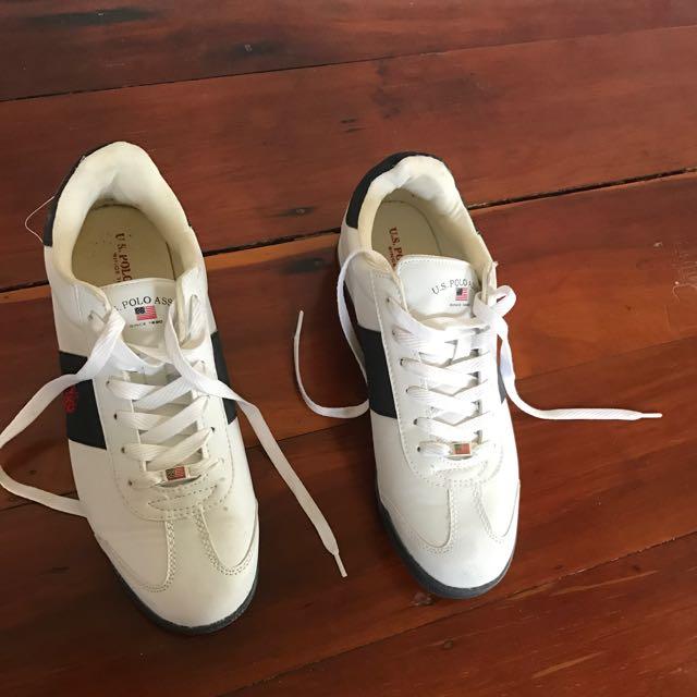 White Polo Sneakers