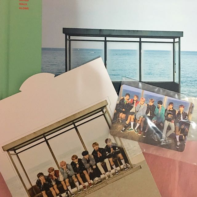 wts sell bts ynwa unsealed album  group photocard 1488394429 cfb83b63