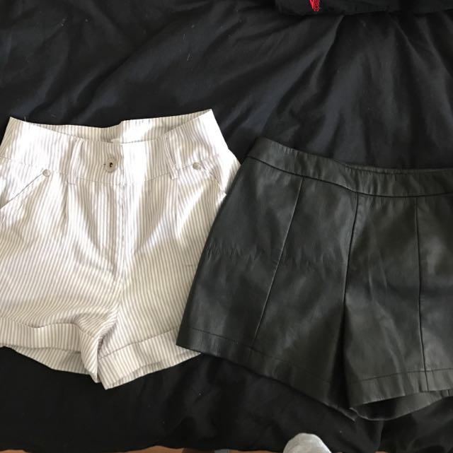 X 2 Shorts