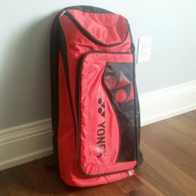 YONEX Red Badminton Bag (Rare)