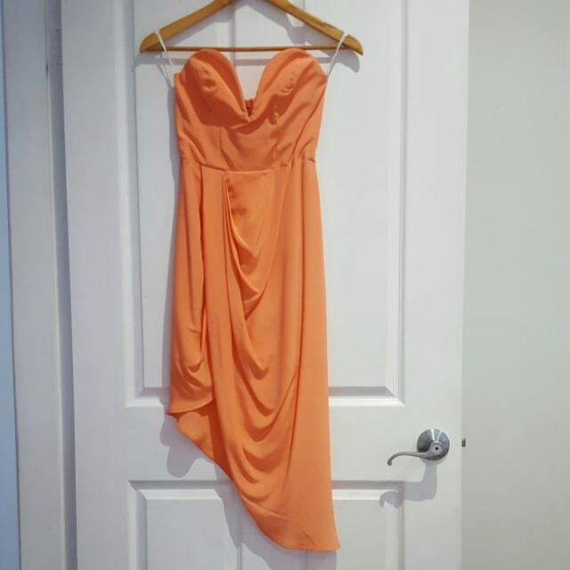 Zimmermann Drape Dress