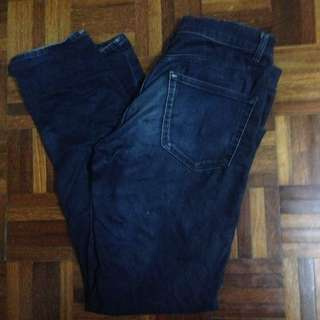 Wts Uniqlo Stretch Jeans Slim Fit