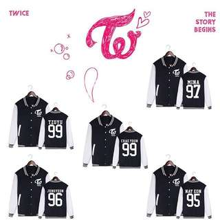 [PO] TWICE baseball Jacket