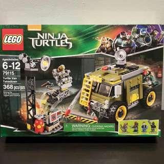 Brand New Ninja Turtle Lego Turtle Van Takedown 79115