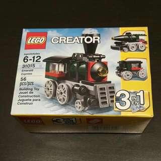 Brand New Lego Creator Emerald Express 31015