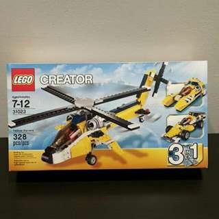 Brand New Lego Creator Yellow Racer 31023