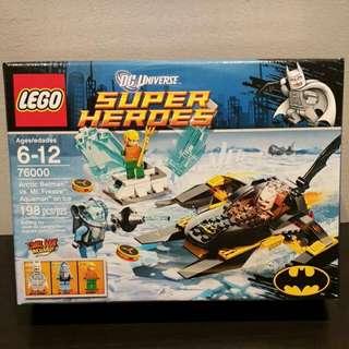 Brand New Lego DC Super Heroes Arctic Batman Vs Mr Freeze: Aquaman On Ice 76000