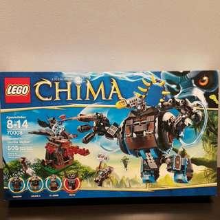 Brand New Chima Lego Gorzan Gorilla Striker 70008