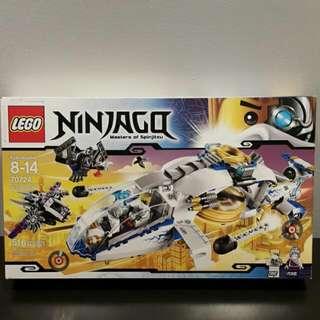 Brand New Ninjago Lego NinjaCopter 70724