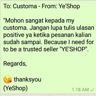 For Our Customers