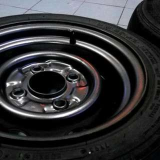 Modified Steel Rims PCD 110 12x6j Kancil