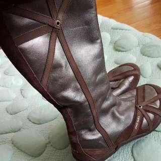 Diesel genuine leather suede size 7