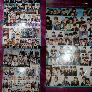 EXO OT12 Sticker Sheet