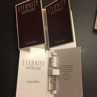 包郵- Calvin Klein Eternity Intensive 香水版仔 1.2ml