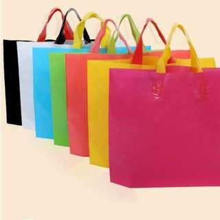 25 For $5 !! 20x30x8cm Plastic Carrier Shopping Bag