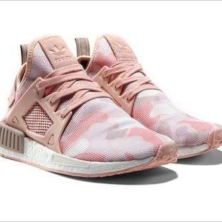 ADIDAS Originals NMD Camo Pink Size US7