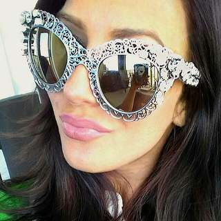 D&G 100% Authentic Sunglasses With Swarovski Crystals