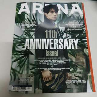 Brand New Korea Magazine Arena Homme March Issue Lee Dong Wook