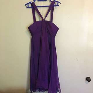 Purple Dress (FOREVER NEW)