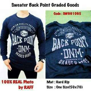 sweater Back Point Graded Goods