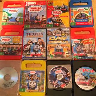 12 Thomas The Tank Engine DVDs