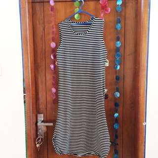 Dress Strip With Bollero Jeans