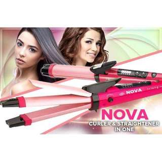 NOVA 2 in 1 STRAIGHTENING AND CURLING