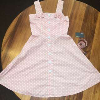 Revival Polkadot Dress