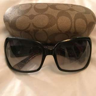 Authentic Coach sunglasses