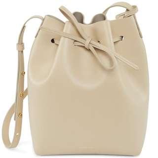 Mansur Gavriel Bucket Bag In Sand