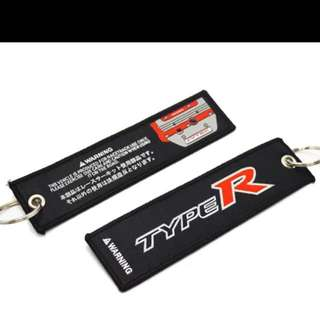 Civic Type R Key Tag