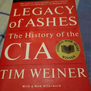 Tim Weiner - The Legacy Of Ashes The History Of CIA