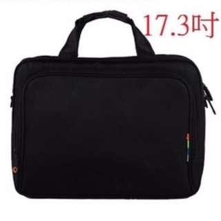 17.3 吋電腦包 男女電腦包 筆記型側背包 手提包 加厚款 筆電包