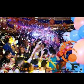Confetti Indoor And Outdoor (Fireworks Display)