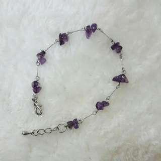 💍賣場贈品:紫水晶手鍊
