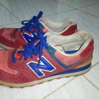 New Balance 574 Preloved Red-Blue