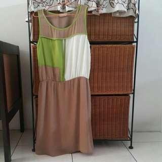 Brown Sole Mio Dress